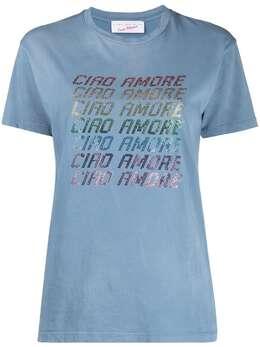 Giada Benincasa футболка с надписью S1821TD