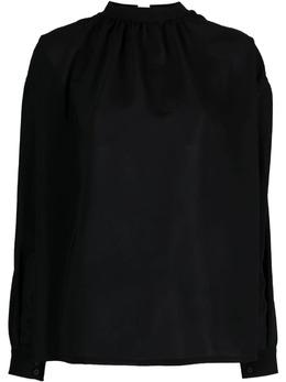 Uma Wang блузка с рукавами бишоп UW1031