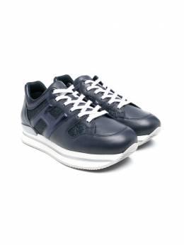Hogan Kids кроссовки с блестками HXR2220T548PF7