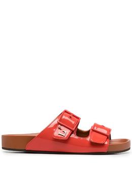 L'Autre Chose сандалии с логотипом LDL18820GP00414043