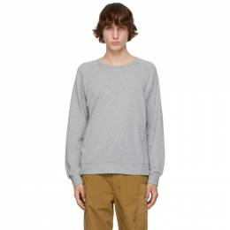 Visvim Grey JV Sweatshirt 0121105010003