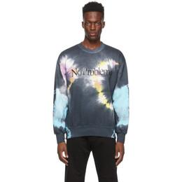 Aries Black and Multitcolor No Problemo Headlights Sweatshirt SRAR20225