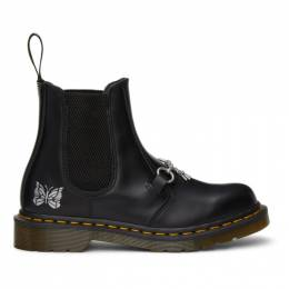 Needles Black Dr. Martens Edition 2976 Snaffle Chelsea Boots 26908001