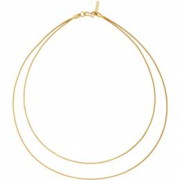 Sophie Buhai Gold Double Diana Necklace SS21-N04-GOLD