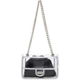 Junya Watanabe Transparent PVC Flap Shoulder Bag JG-K202-051