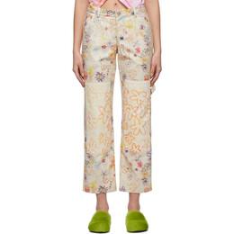 Collina Strada Beige Chason Jeans XX6330