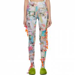 Collina Strada Multicolor Bow Leggings XX1222