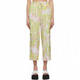 Collina Strada SSENSE Exclusive Green Dollhouse Lounge Pants XX6100