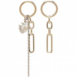 Justine Clenquet Gold Paloma Earrings