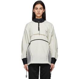 Adidas by Stella McCartney Off-White Beachdefender Run Swim Clean Cover-Up GL7630