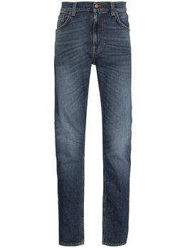 Nudie Jeans прямые джинсы средней посадки 113555
