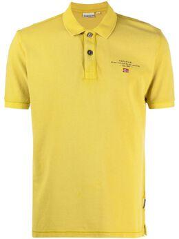 Napapijri рубашка поло с вышитым логотипом NP0A4FA2