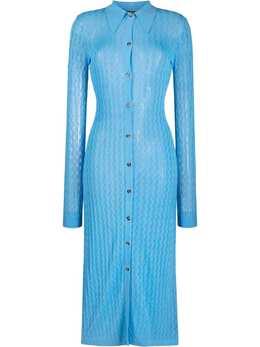 Dodo Bar Or платье миди рыхлой вязки DBO1792