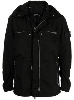 Stone Island Shadow Project куртка с аппликацией логотипа 741941002
