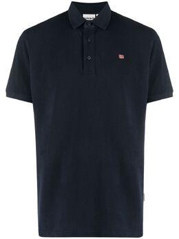 Napapijri рубашка поло с вышитым логотипом NP0A4FUO1761
