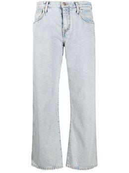 Alanui прямые джинсы средней посадки LWYA013S21DEN0014141