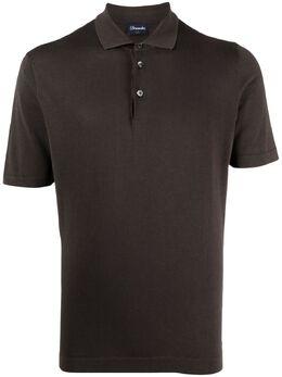 Drumohr рубашка поло с короткими рукавами D0GF202