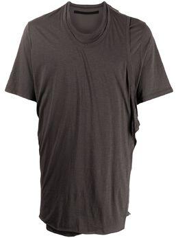 Julius футболка с драпировкой 737CUM19