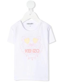 Kenzo Kids футболка с логотипом K95006