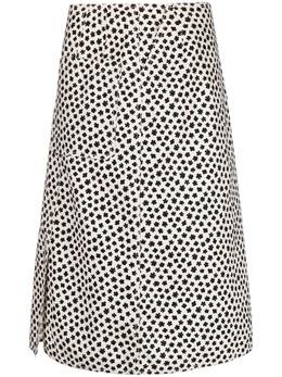 Aspesi юбка А-силуэта с цветочным принтом G2206G421