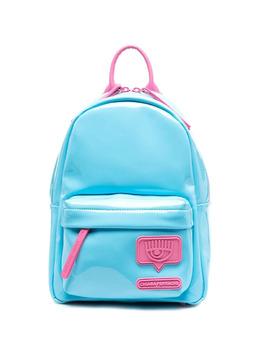 Chiara Ferragni рюкзак с нашивкой-логотипом 21PECFZ082