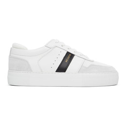 Axel Arigato White and Black Detailed Platform Sneakers 27518