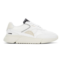 Axel Arigato White and Grey Genesis Sneakers 35054
