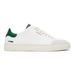 Axel Arigato SSENSE Exclusive White and Green Clean 90 Triple Sneakers 27564
