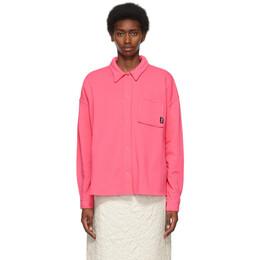 Stussy Pink Huron Shirt 218121