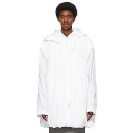 Juun.J White Reebok Edition Windbreaker Jacket GS5125