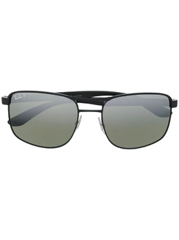 Ray Ban солнцезащитные очки Chromance в прямоугольной оправе RB3660CH