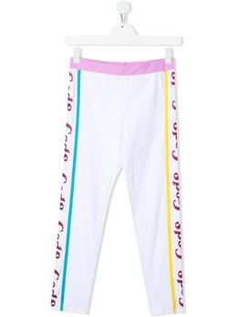 GCDS Kids спортивные брюки с логотипом 027671