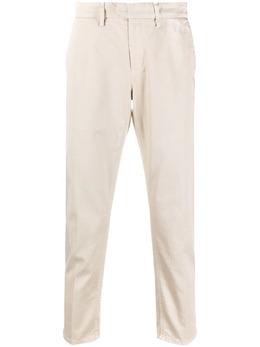 Dondup укороченные брюки с завышенной талией UP525GSE045PTD