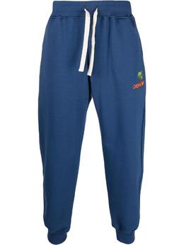 Casablanca спортивные брюки с вышитым логотипом MS21JTR007