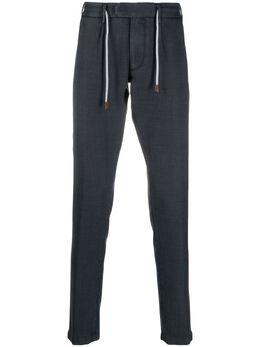 Eleventy узкие брюки из ткани пике C75PANB21TET0C004