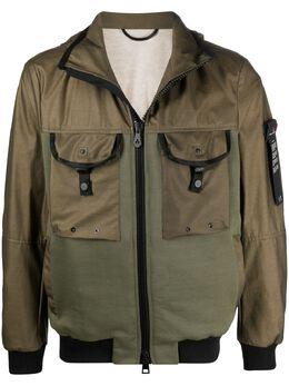 Peuterey легкая куртка со вставками и капюшоном PEU397001111569