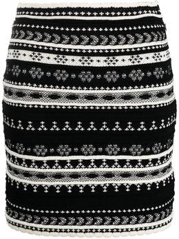 Ermanno Scervino трикотажная юбка с узором D385O700CJA