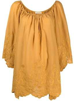 Mes Demoiselles блузка с драпировкой MDKW00086