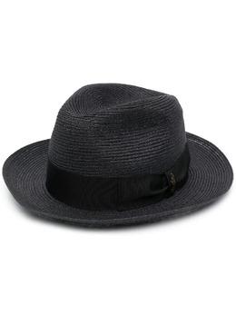 Borsalino плетеная шляпа-федора 107814
