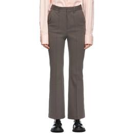 Ader Error Grey Farrok Trousers BKASSSP01CC