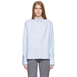 Ader Error Blue Croll Shirt BKASSSH05BL