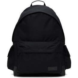 Juun.J Black Canvas Side-Pocket Backpack JC11D4P11