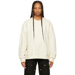 Juun.J Beige Graphic Detail Sweatshirt JC1241P21