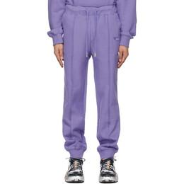 Ader Error Purple Duct Tape Lounge Pants BKASSSP02PP