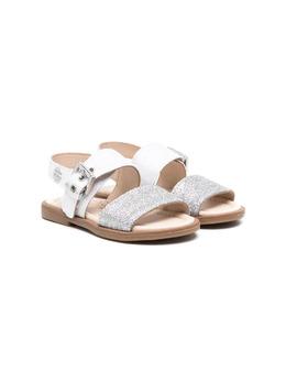 Florens сандалии с блестками J2245