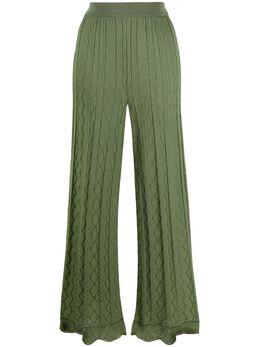 M Missoni расклешенные брюки 2DI002742K008F
