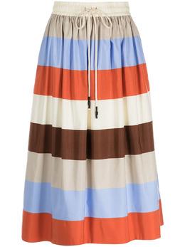 Lee Mathews полосатая юбка А-силуэта M2101SK138