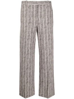 Circolo 1901 прямые брюки в тонкую полоску FD1869