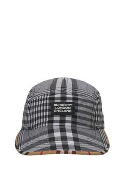 Шляпа Из Хлопкового Габардина Burberry 73ILXJ024-QTY1OTA1