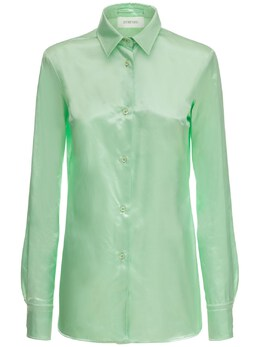 Атласная Рубашка Pirania Sportmax 73I50S005-MDAxIE1FTlRB0